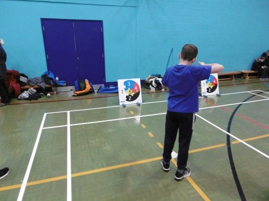 Year 5 and 6 archery