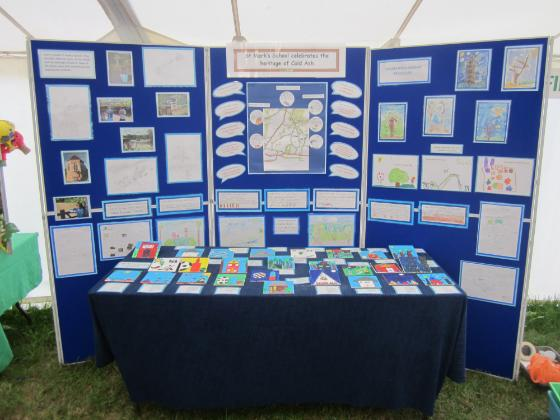 Newbury Show display